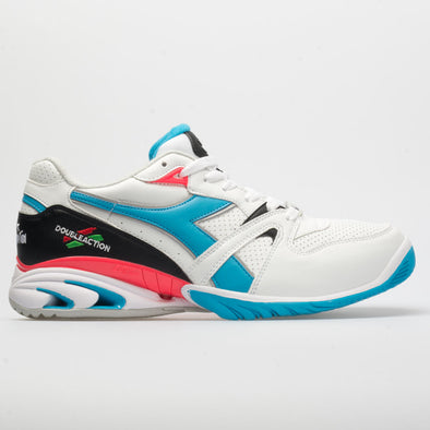 Diadora Speed Star K Duratech AG Men's White/Blue Fluo