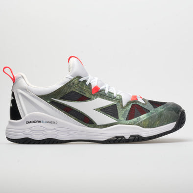 Diadora Speed Blushield Fly 2+ AG Men's White/Olive