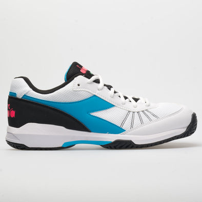 Diadora Speed Challenge 3 AG Men's White/Blue Fluo