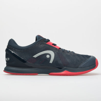 HEAD Sprint Pro 3.0 Men's  Midnight Navy/Neon Red