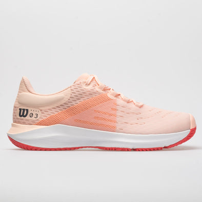 Wilson Kaos 3.0 Women's Tropical Peach/White/Cayenne