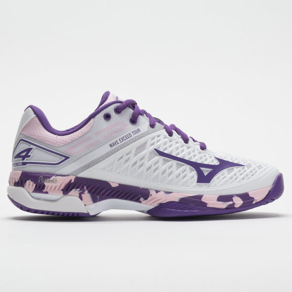 Mizuno Wave Exceed Tour 4 AC Women's White/Purple