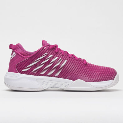 K-Swiss Hypercourt Supreme Women's Cactus Flower/Nimbus Cloud/White