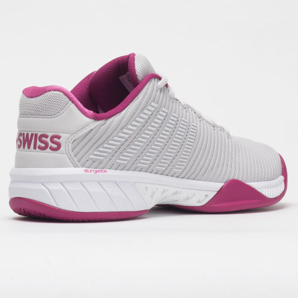 K-Swiss Hypercourt Express 2 Women's Nimbus Cloud/Cactus Flower/White