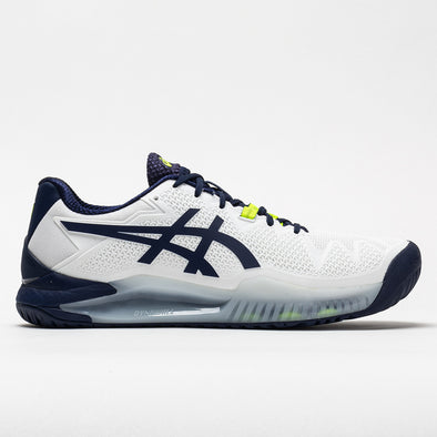 ASICS GEL-Resolution 8 Men's White/Peacoat