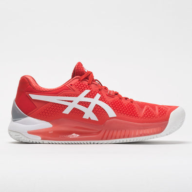 ASICS GEL-Resolution 8 Clay Women's Fiery Red/White