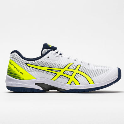 ASICS Court Speed FF Men's White/Safety Yellow