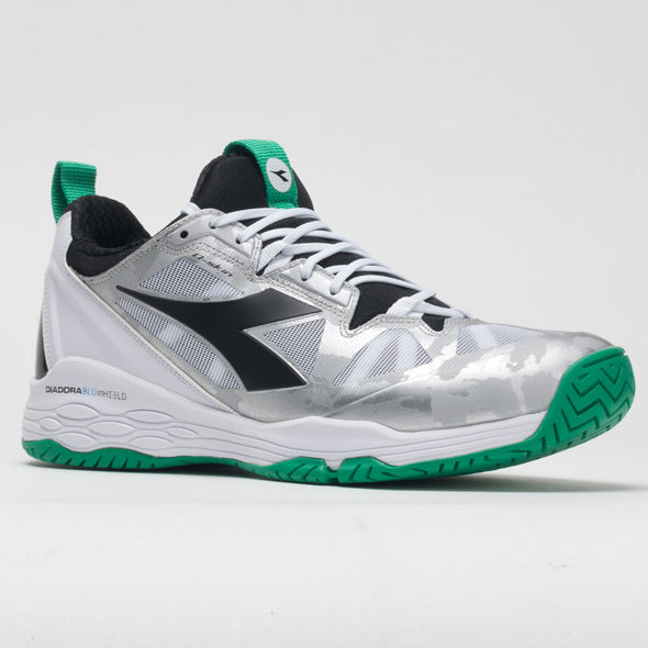 Diadora Speed Blushield Fly 2+ AG Men's White/Holly Green/Black
