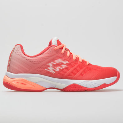 Lotto Mirage 300 II Speed Women's Red Fluo/All White/Vivid Rose