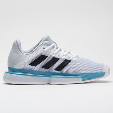 adidas SoleMatch Bounce Men's White/Core Black/Halo Blue