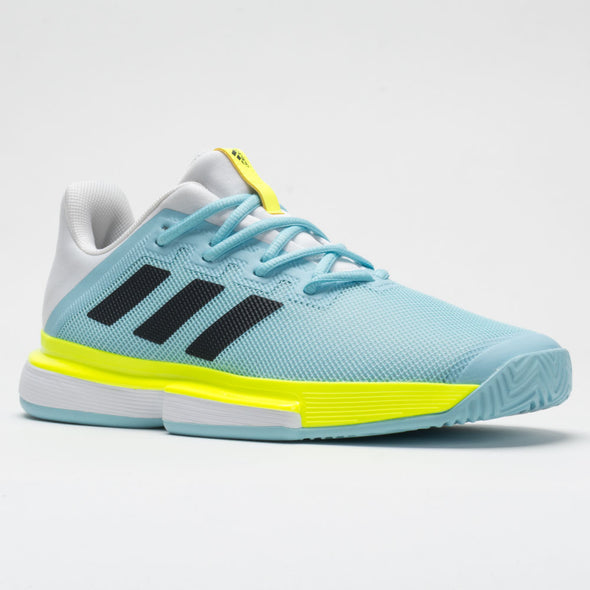 adidas SoleMatch Bounce Men's Hazy Sky/Core Black/Solar Yellow
