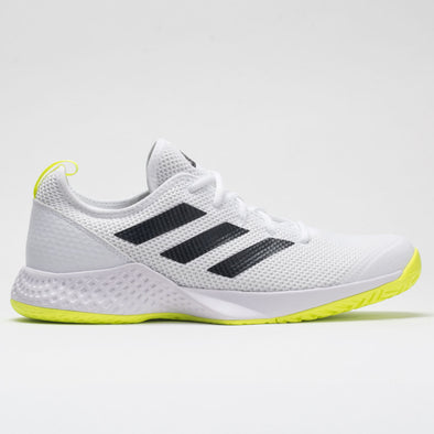 adidas Court Control Men's White/Core Black/Solar Yellow