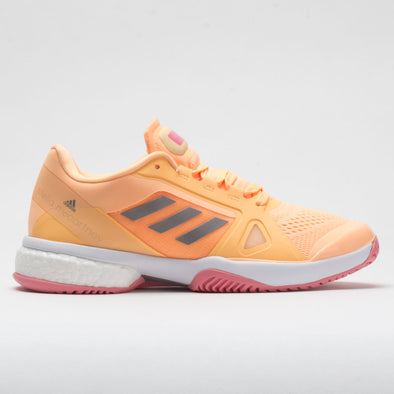 adidas Stella Court Women's Acid Orange/Silver Metallic/Hazy Rose