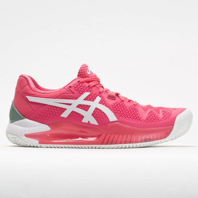 ASICS GEL-Resolution 8 Clay Women's Pink Cameo/White