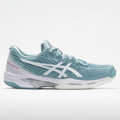 ASICS Solution Speed FF 2 Clay Women's Smoke Blue/White