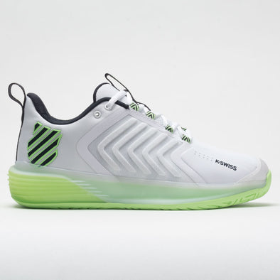 K-Swiss Ultrashot 3 Men's White/Soft Neon Green/Blue Graphite