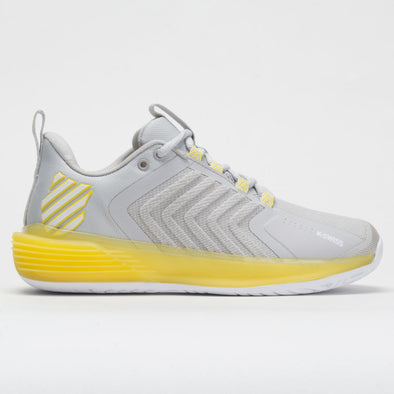 K-Swiss Ultrashot 3 Women's Lunar Rock/Buttercup/White