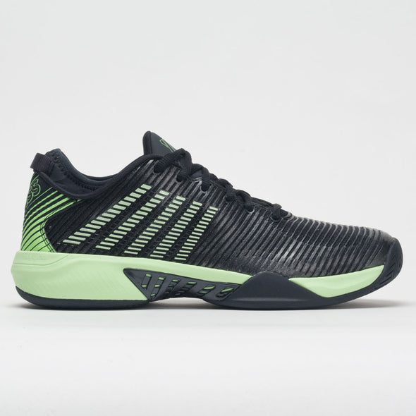 K-Swiss Hypercourt Supreme Men's Blue Graphite/Soft Neon Green