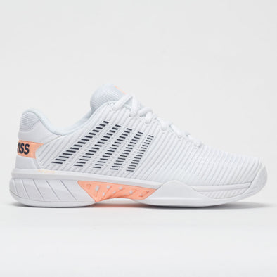 K-Swiss Hypercourt Express 2 Women's White/Peach/Graystone