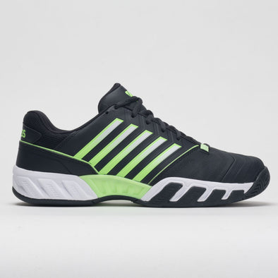 K-Swiss Bigshot Light 4 Men's Graphite Blue/Soft Neon Green/White