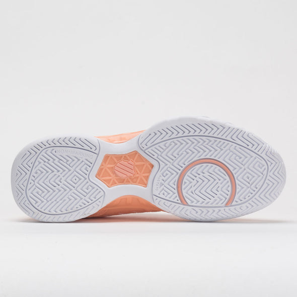 K-Swiss Bigshot Light 4 Women's Peach Nectar/Graystone/White