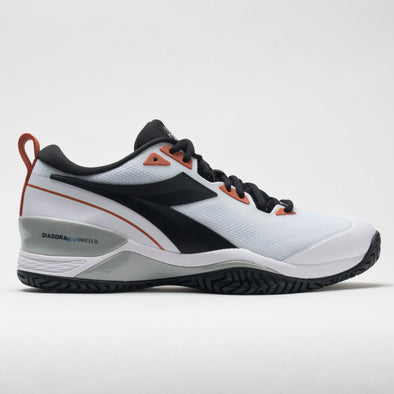 Diadora Speed Blushield 5 AG Men's White/Black/Mecca Orange