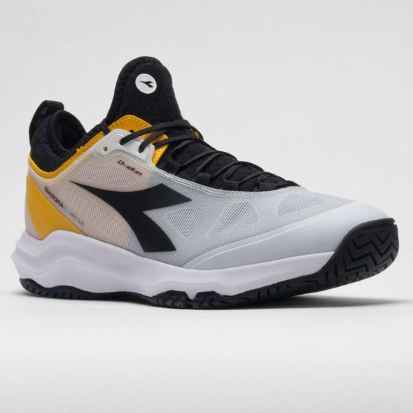 Diadora Speed Blushield Fly 3+ AG Men's White/Black/Saffron