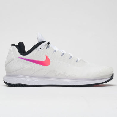 Nike Air Zoom Vapor X Knit Men's Summit White/Black/Electro Green