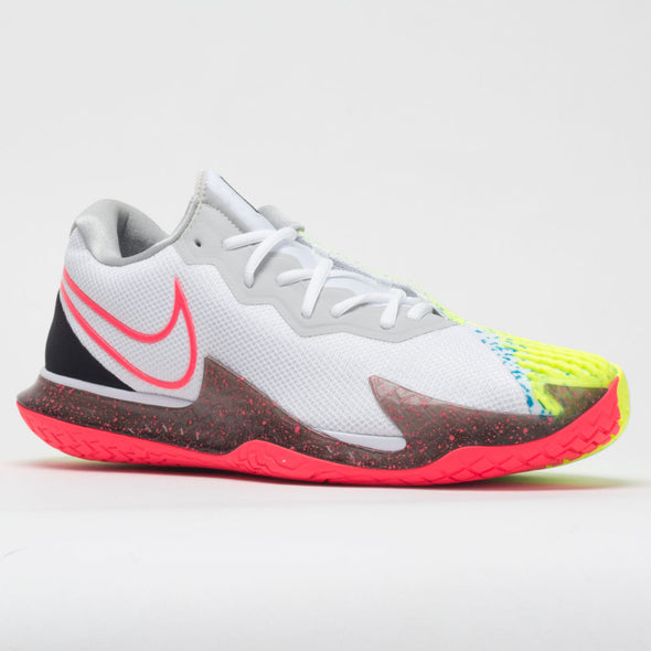 Nike Air Zoom Vapor Cage 4 Men's White/Solar Red/Hot Lime