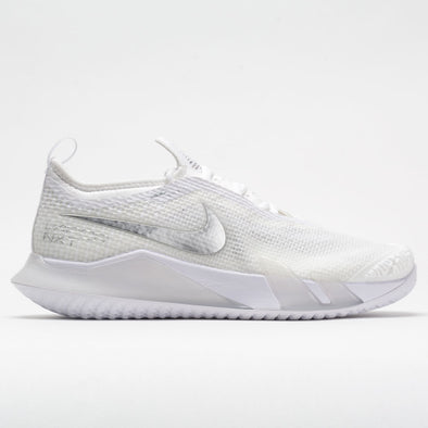Nike React Vapor NXT Women's White/Metallic Silver/Grey Fog