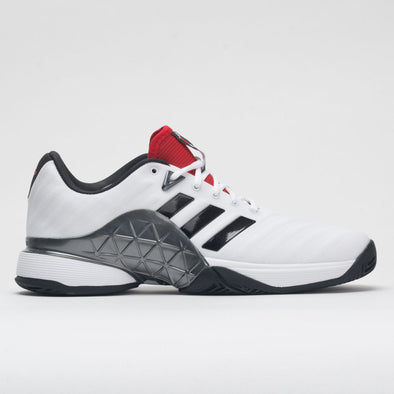 adidas Barricade 2018 Men's White/Black/Night Metallic