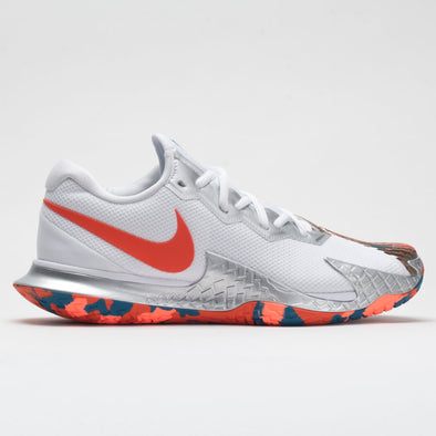Nike Air Zoom Vapor Cage 4 Men's White/Team Orange/Green Abyss