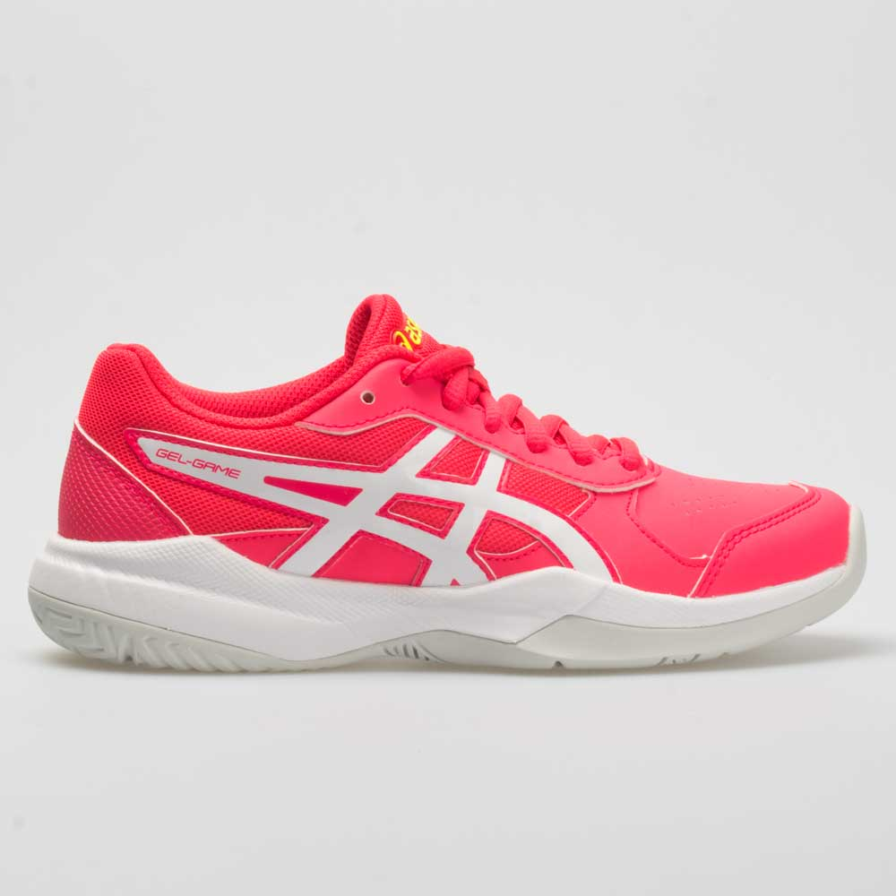 ASICS GEL-Game 7 Junior Laser Pink/White Junior Tennis Shoes Size 5.5 Width Medium