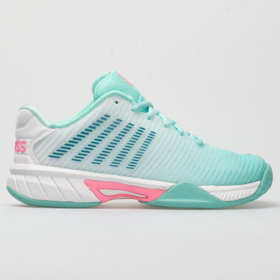 K-Swiss Hypercourt Express 2 Junior Aruba Blue/White/Solf Pink