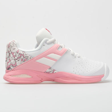 Babolat Propulse Junior White/Geranium Pink