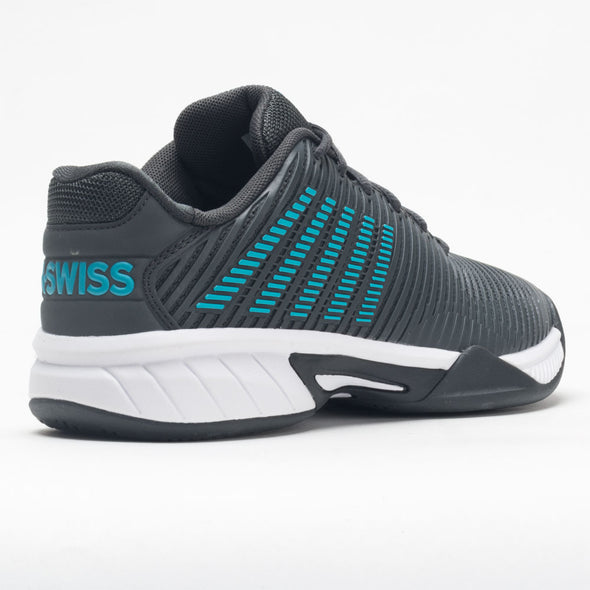 K-Swiss Hypercourt Express 2 Junior Dark Shadow/Scuba Blue/White