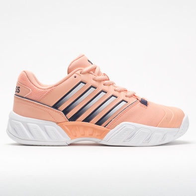 K-Swiss Bigshot Light 4 Junior Peach Nectar/Graystone/White