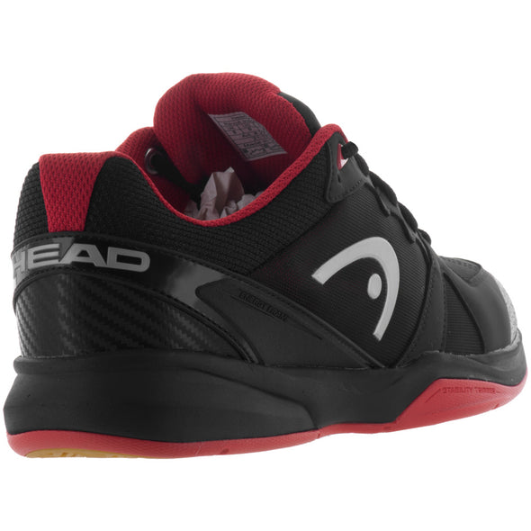 HEAD Revolt Indoor Men's Raven/Red
