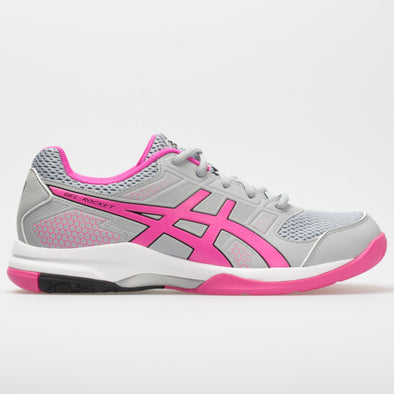 ASICS GEL-Rocket 8 Women's Mid Grey/Pink Glo
