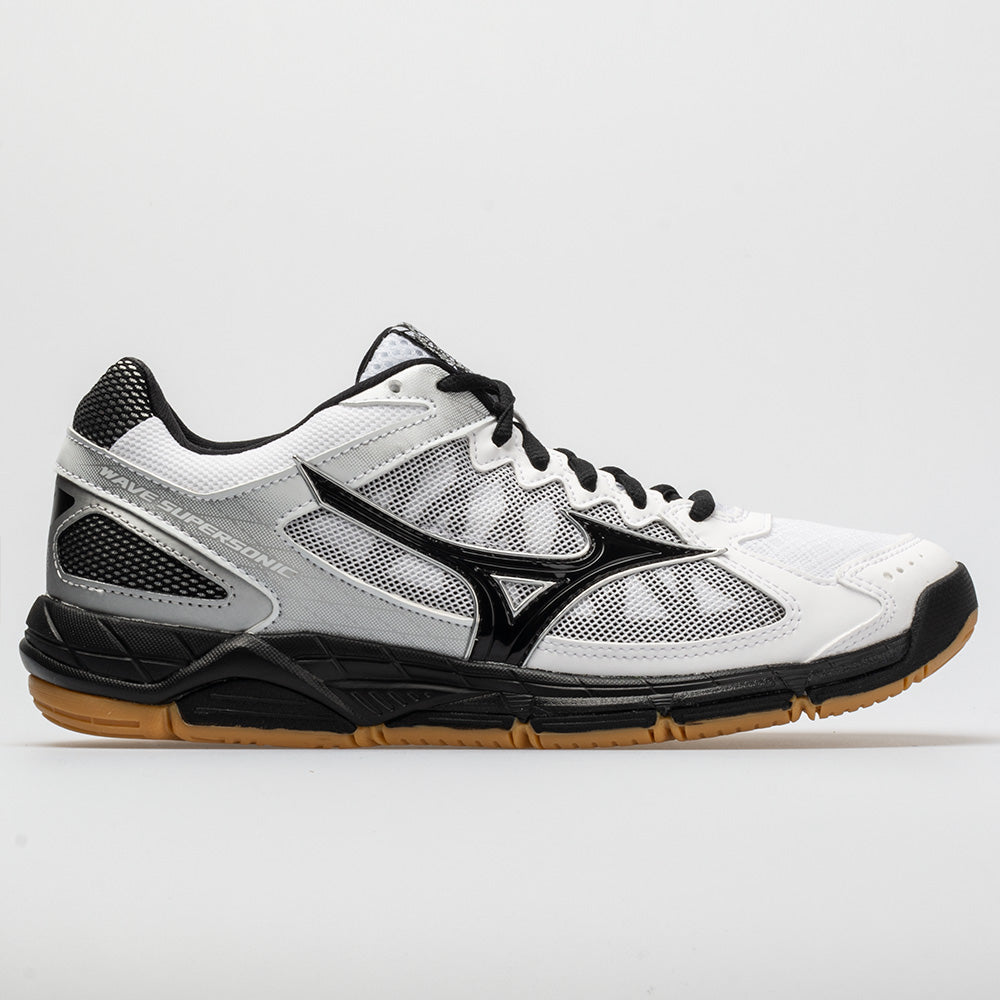 Mizuno Wave Supersonic Women s White Black – Holabird Sports c4da7b7d2