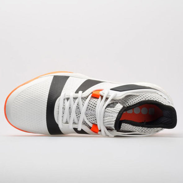 adidas Stabil X Men's White/Core Black/Solar Orange