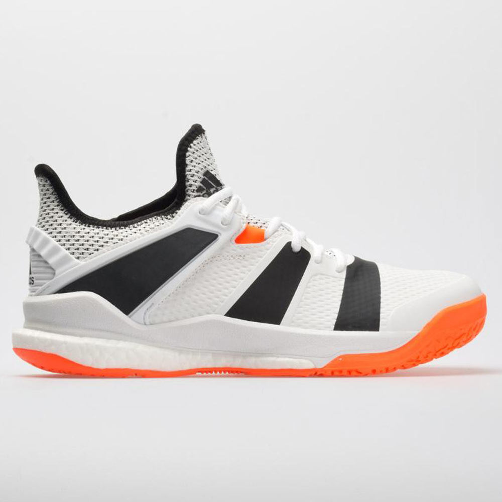 qualité stable grande variété de styles vente de sortie adidas Stabil X Men's White/Core Black/Solar Orange