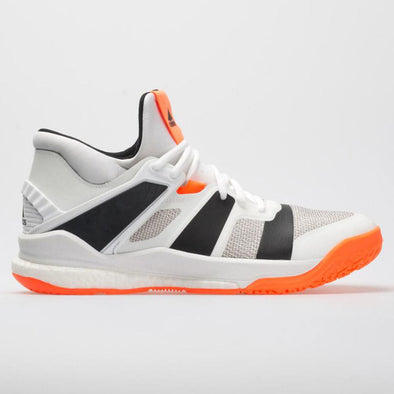 adidas Stabil X Mid Men's White/Core Black/Solar Orange