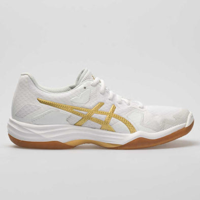 ASICS GEL-Tactic Women's White/Rich Gold