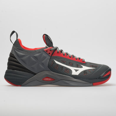 Mizuno Wave Momentum Men's High Risk Red/Grey