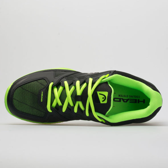 HEAD Revolt Indoor Men's Raven/Neon Green