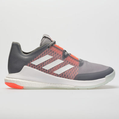 adidas CrazyFlight Men's Gray/White/Signal Coral