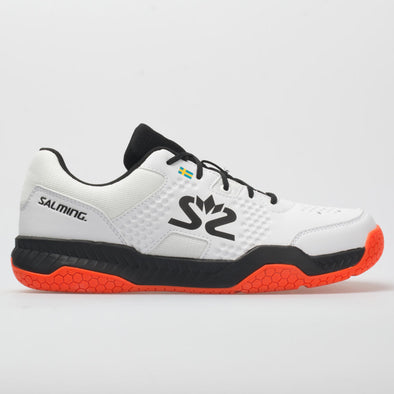 Salming Hawk Court Men's White/Black/Flame Red