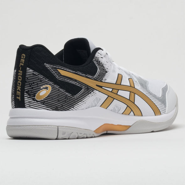 ASICS GEL-Rocket 9 Men's White/Pure Gold