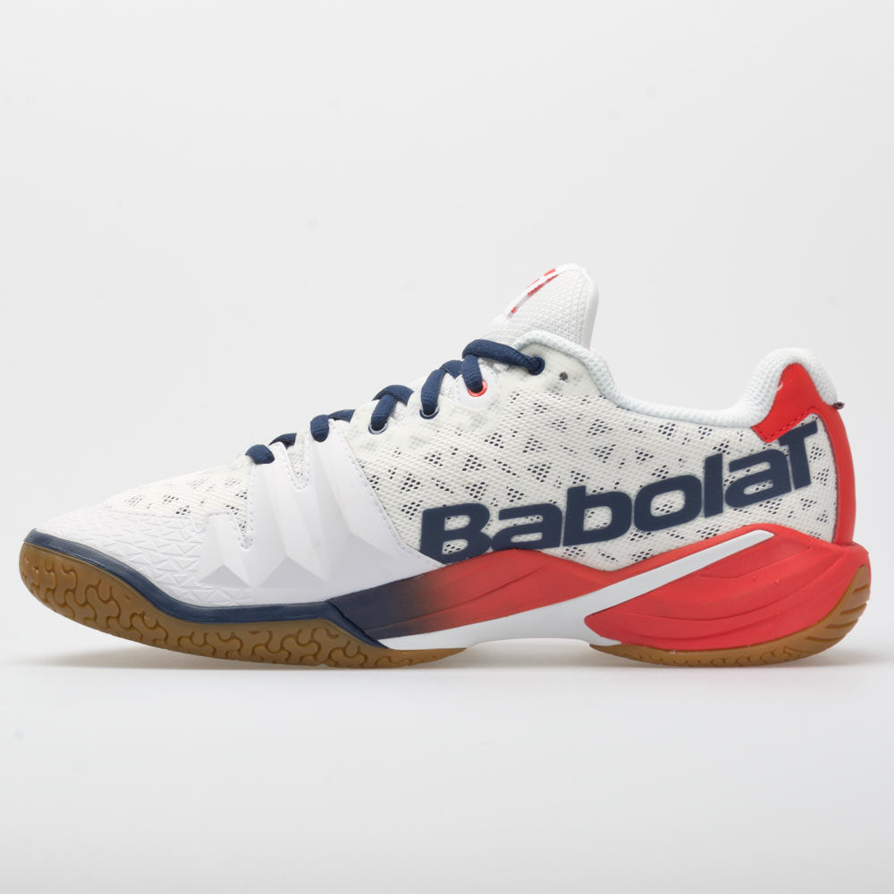 Babolat Shadow Tour Indoor Court Shoes White//Navy